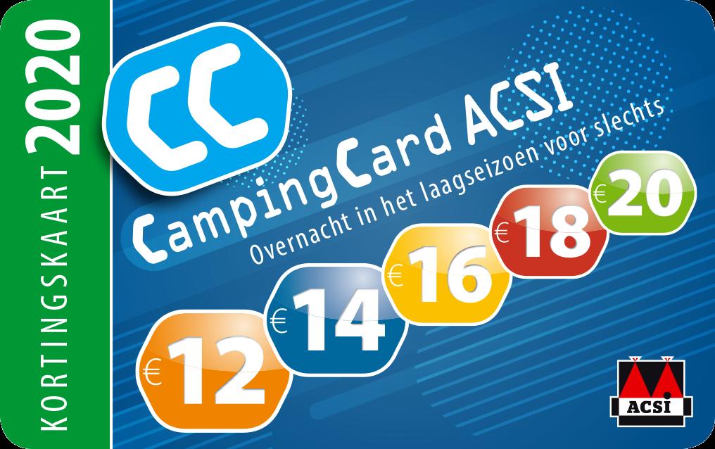 ACSI Campingcard plat