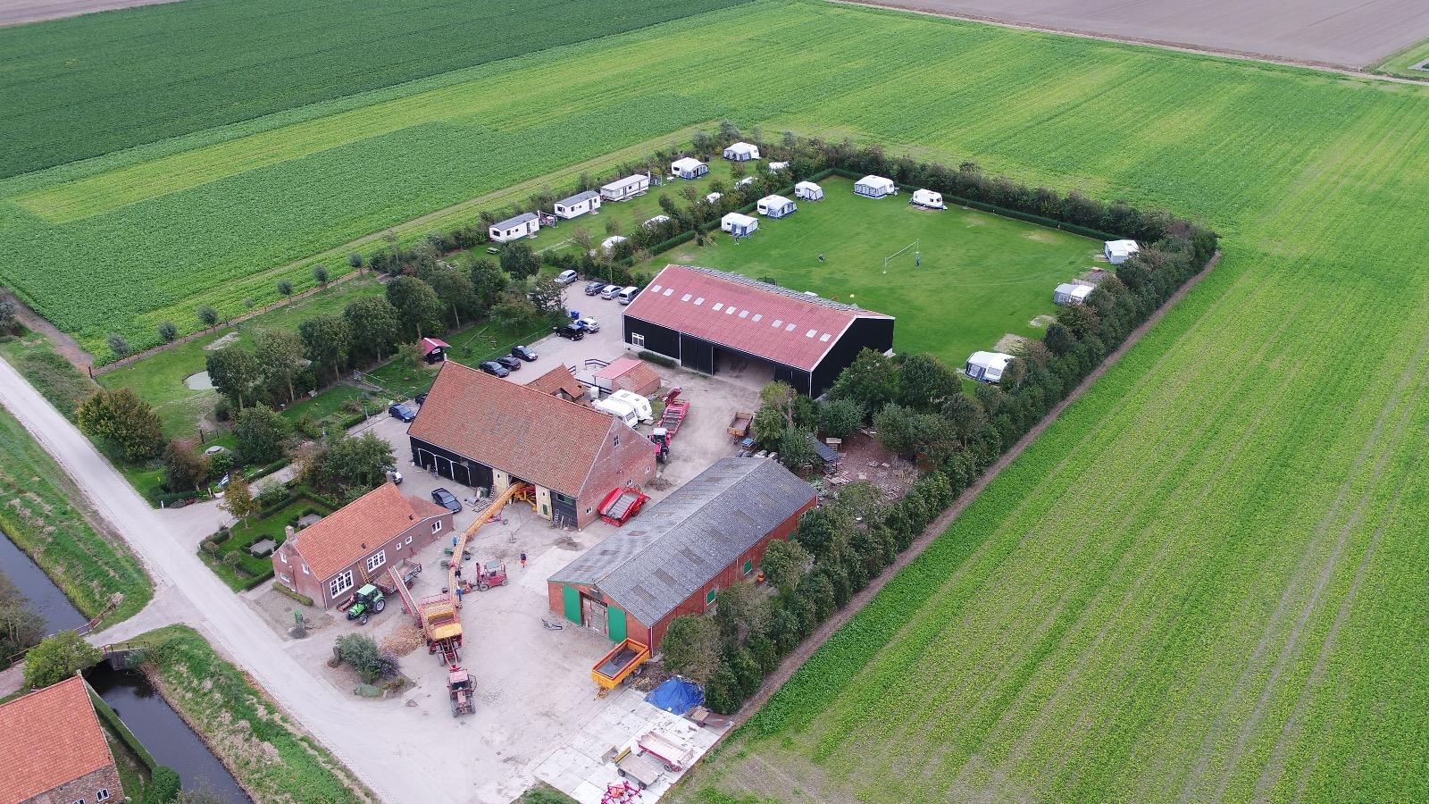 Boerencamping in Zeeland - Zonnehoek