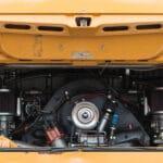 APK Camper oude gele VW bus motor