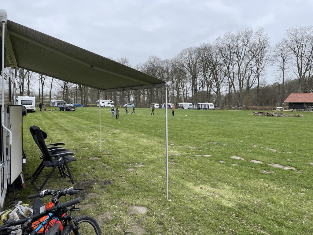 Kampeerveld van Camping De Hoevens