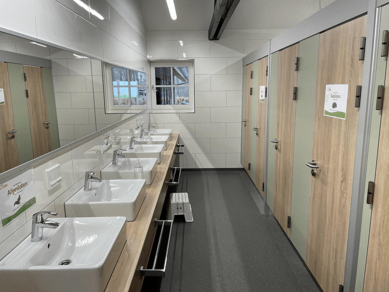 Sanitair gebouw Landgoed De Hoevens