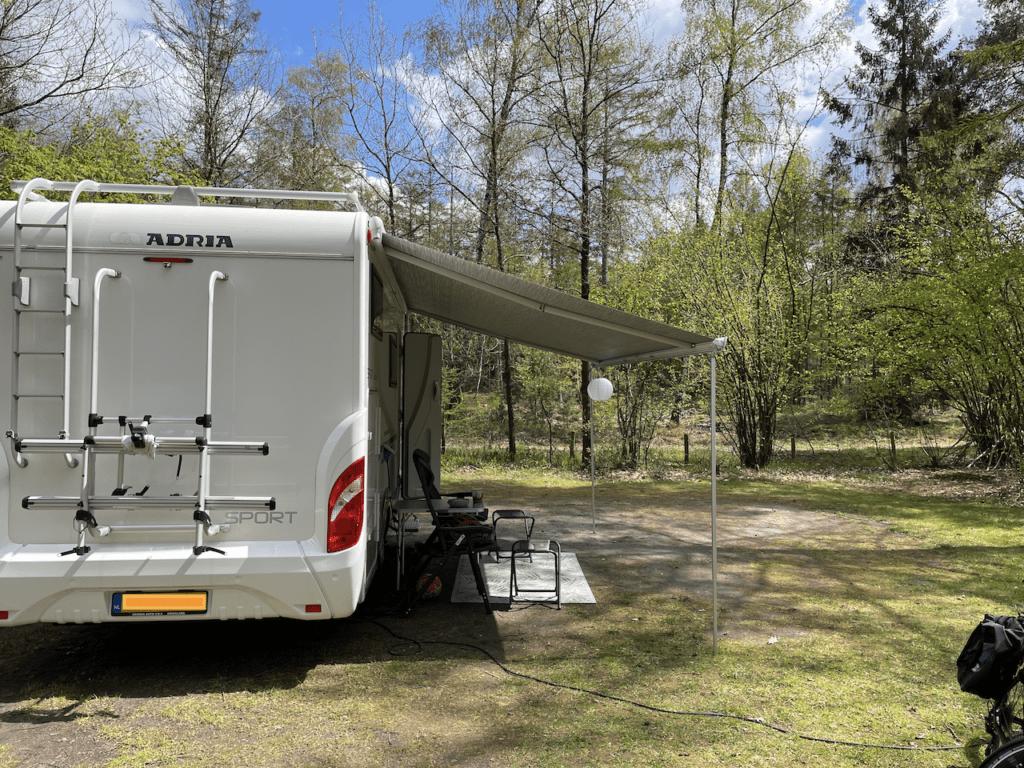 Plek 148 - basis campingplaats op Rabbit Hill